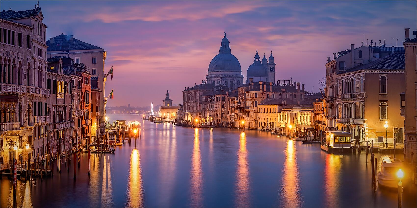 Panoramabild Venedig Santa Maria della Salute
