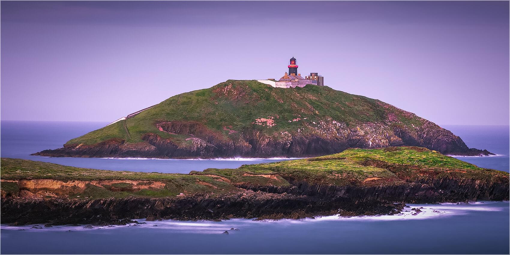 Panoramabild Ballycotton Leuchtturm Irland