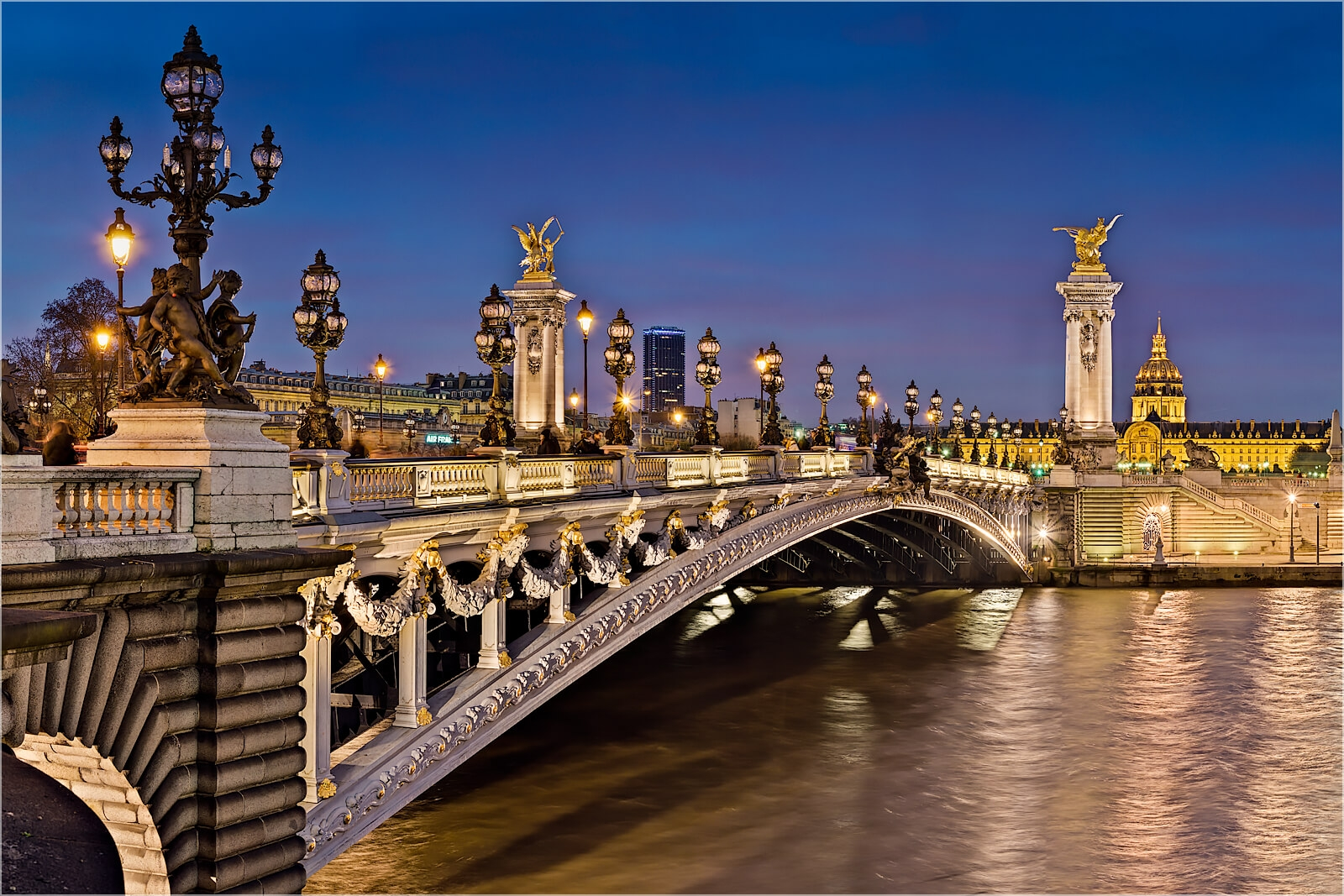 Wanddeko Paris am Pont Alexandre III
