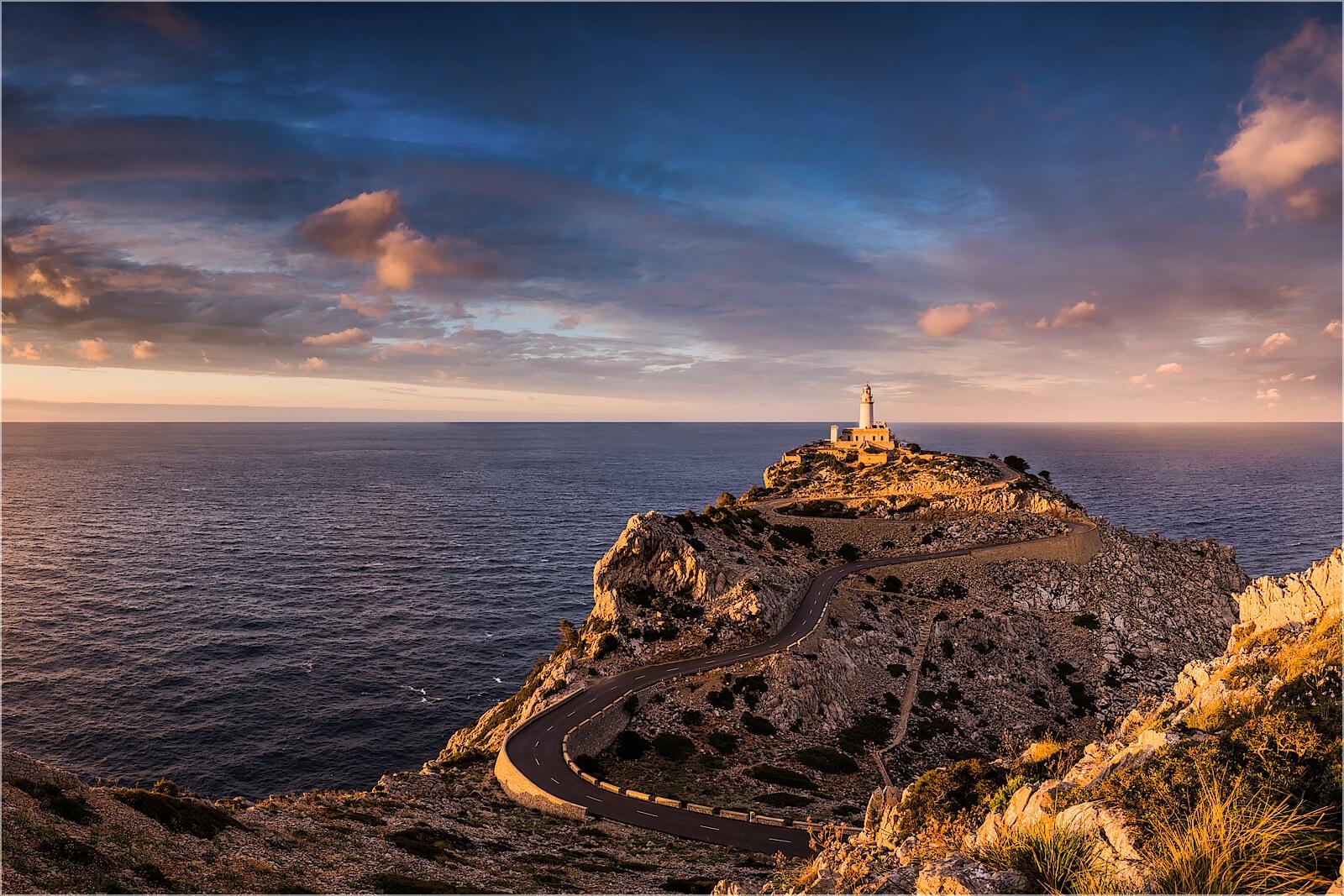 Wandbild Cap Formentor Mallorca