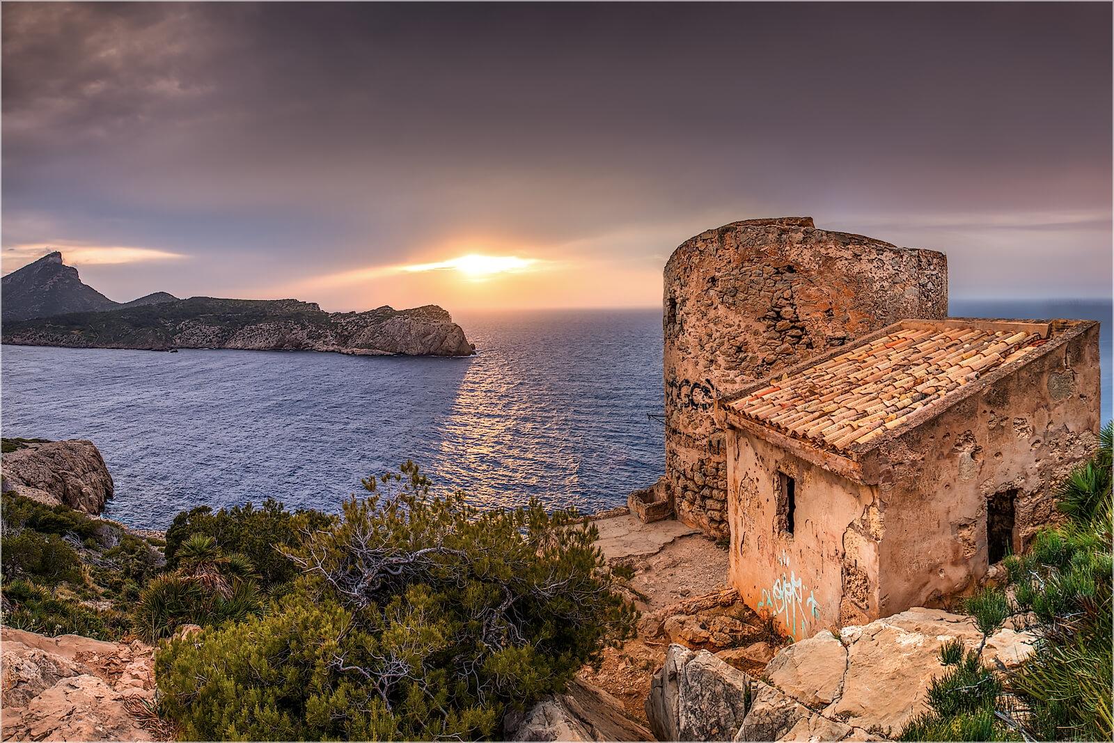 Wandbild Torre en Basset Mallorca