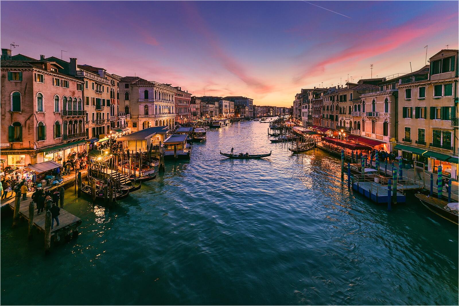 Wanddeko Italien Venedig Canal Grande