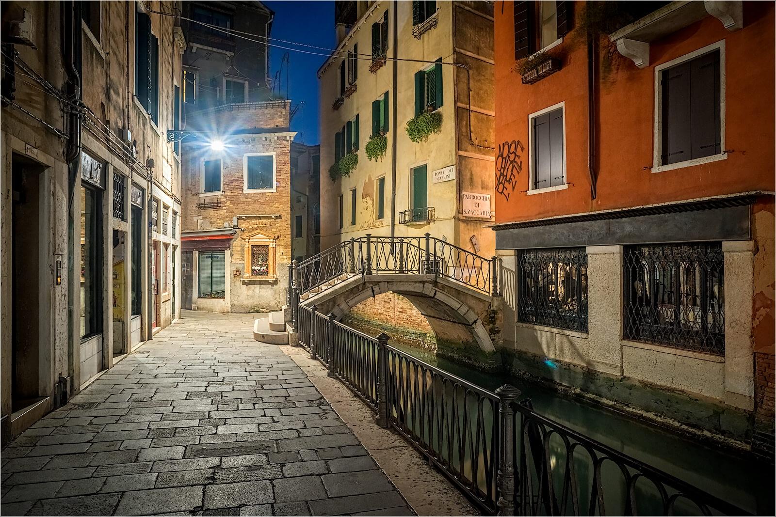 Wanddeko Gassen von Venedig Italien