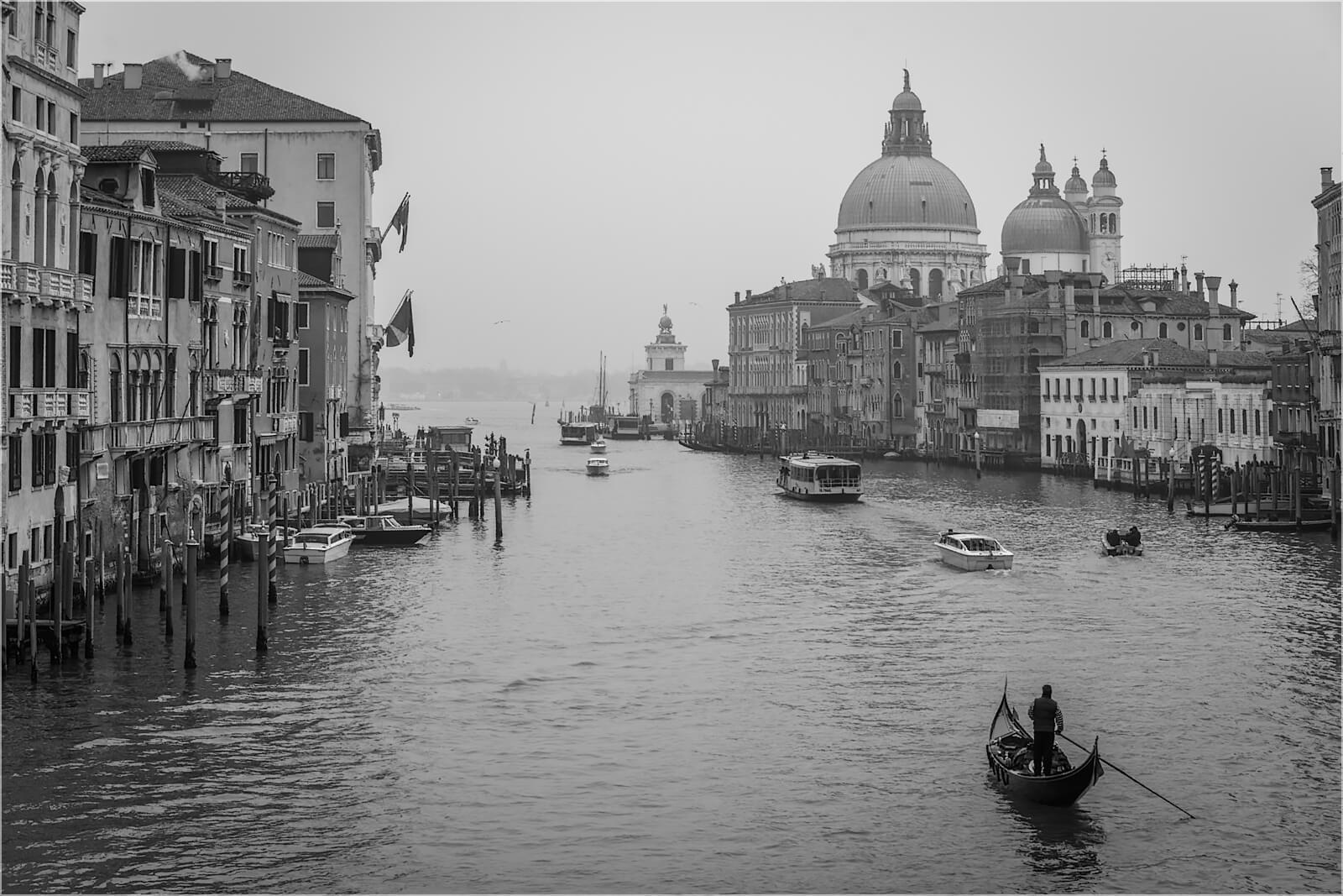 Wanddeko Gondoliere Venedig Italien