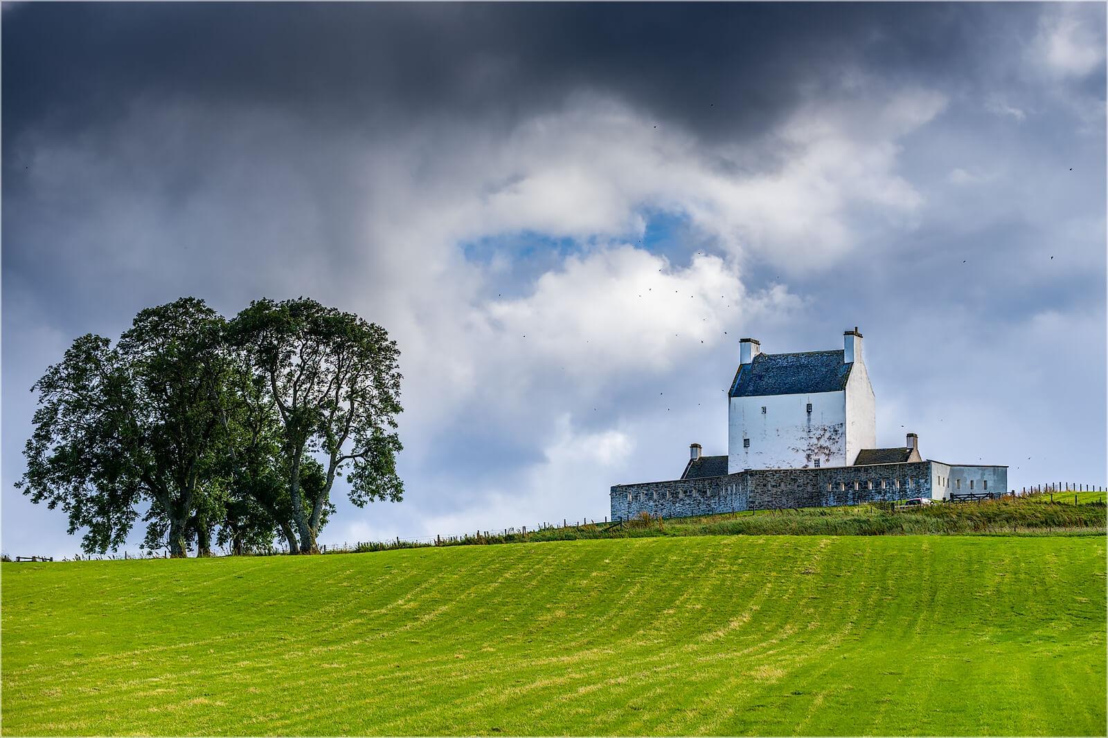 Wanddeko Corgarff Castle Schottland