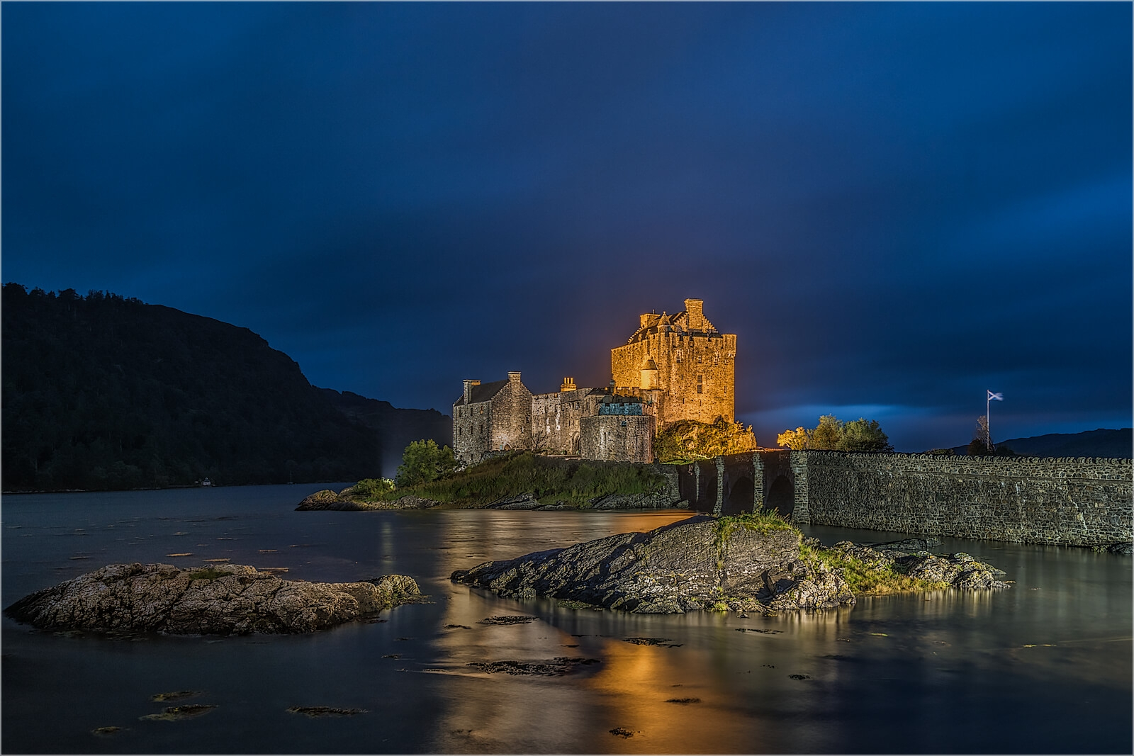 Wandbild Eilean Donan Castle Schottland