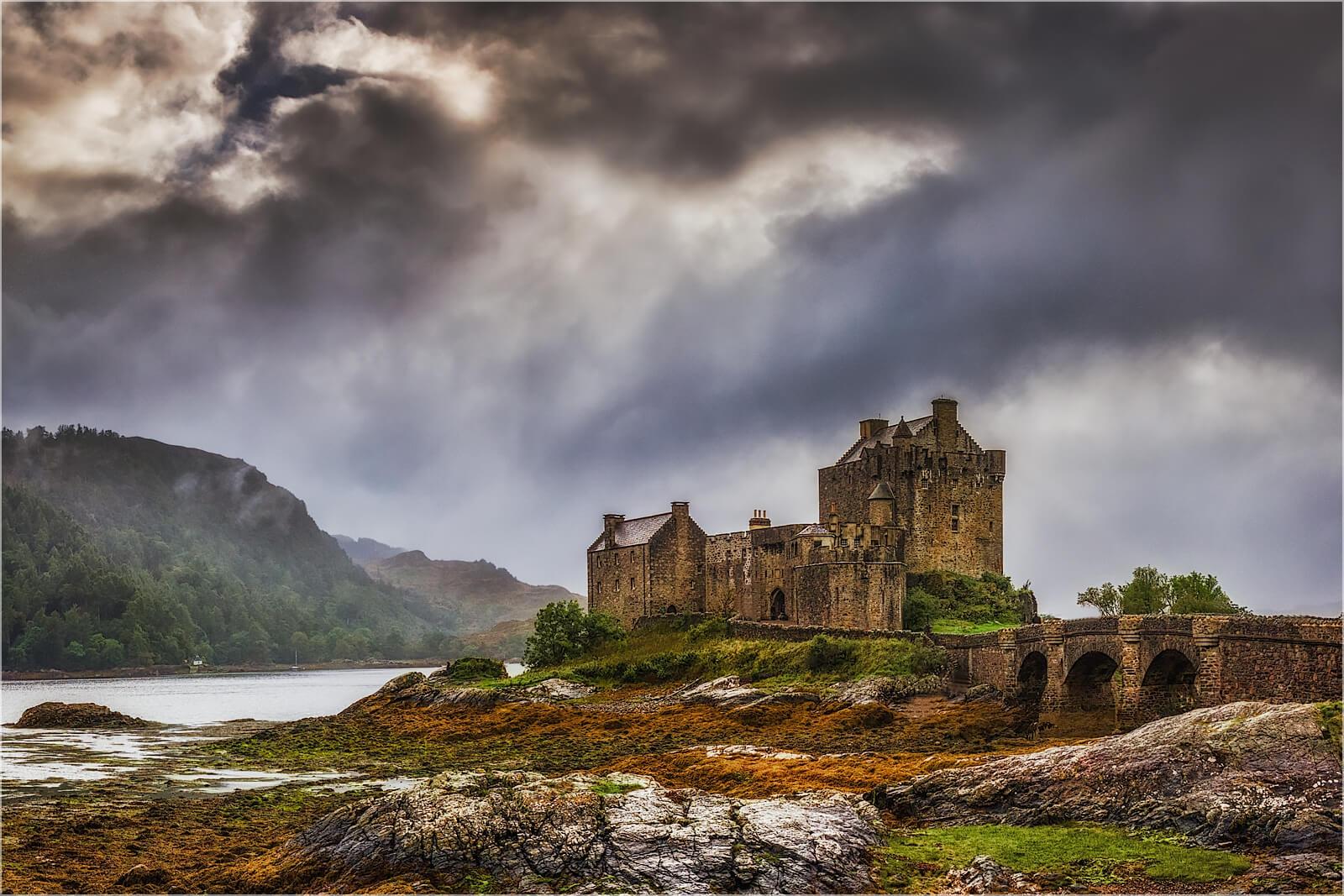Wanddeko Eilean Donan Castle Schottland