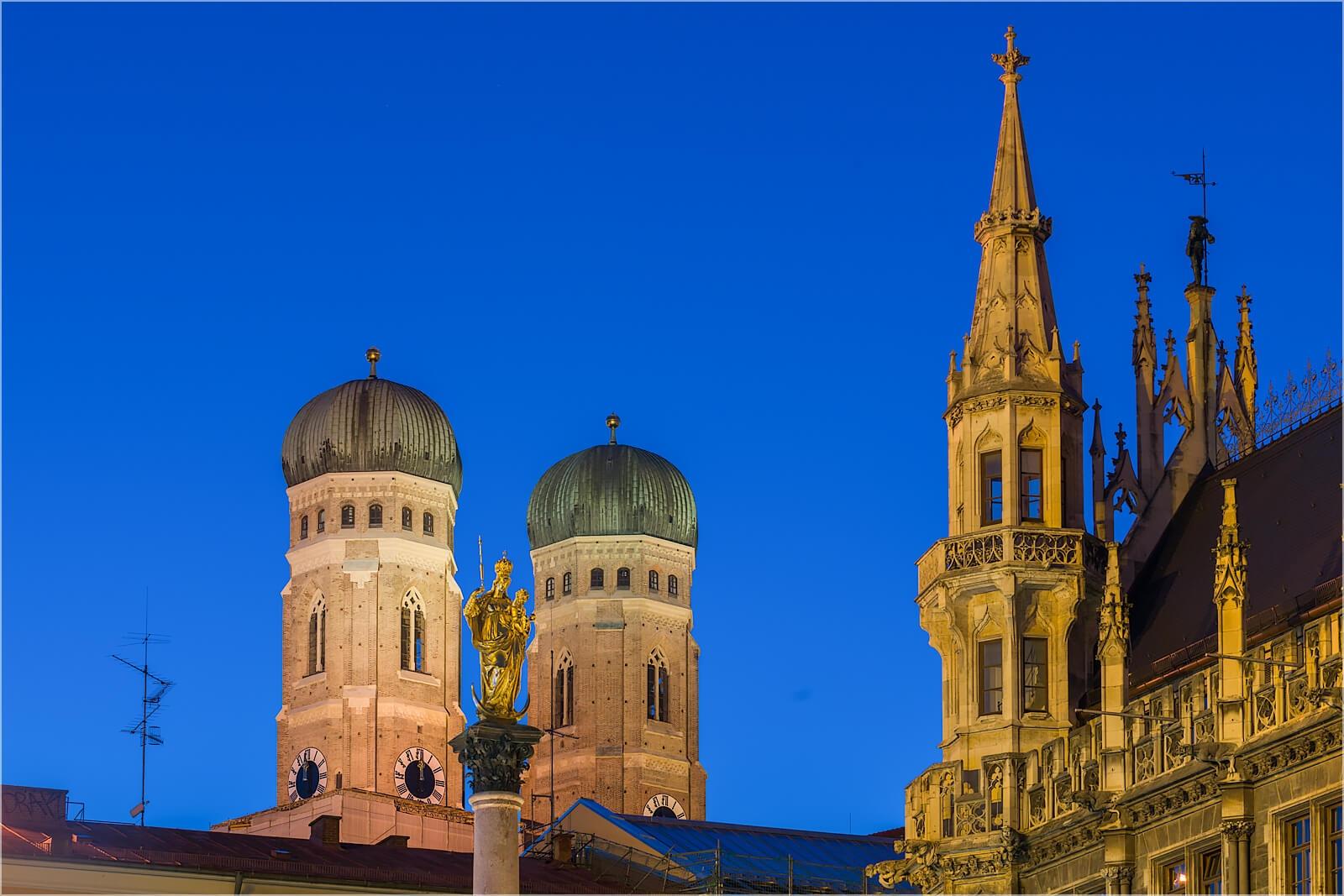Wanddeko Frauenkirche München