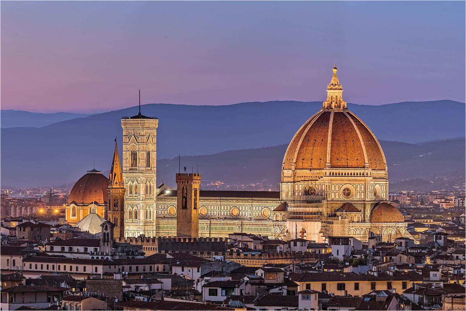 Wanddeko Dom von Florenz Italien