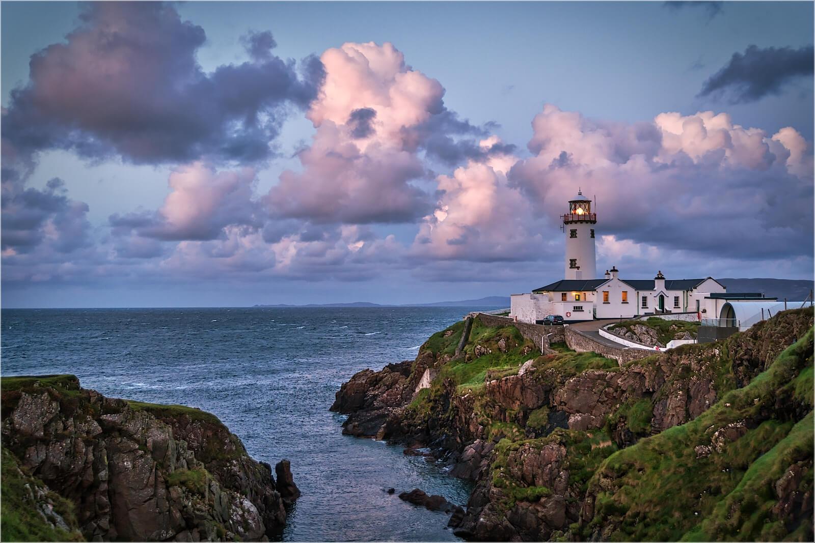 Wandbild Fanad Head Leuchtturm Irland