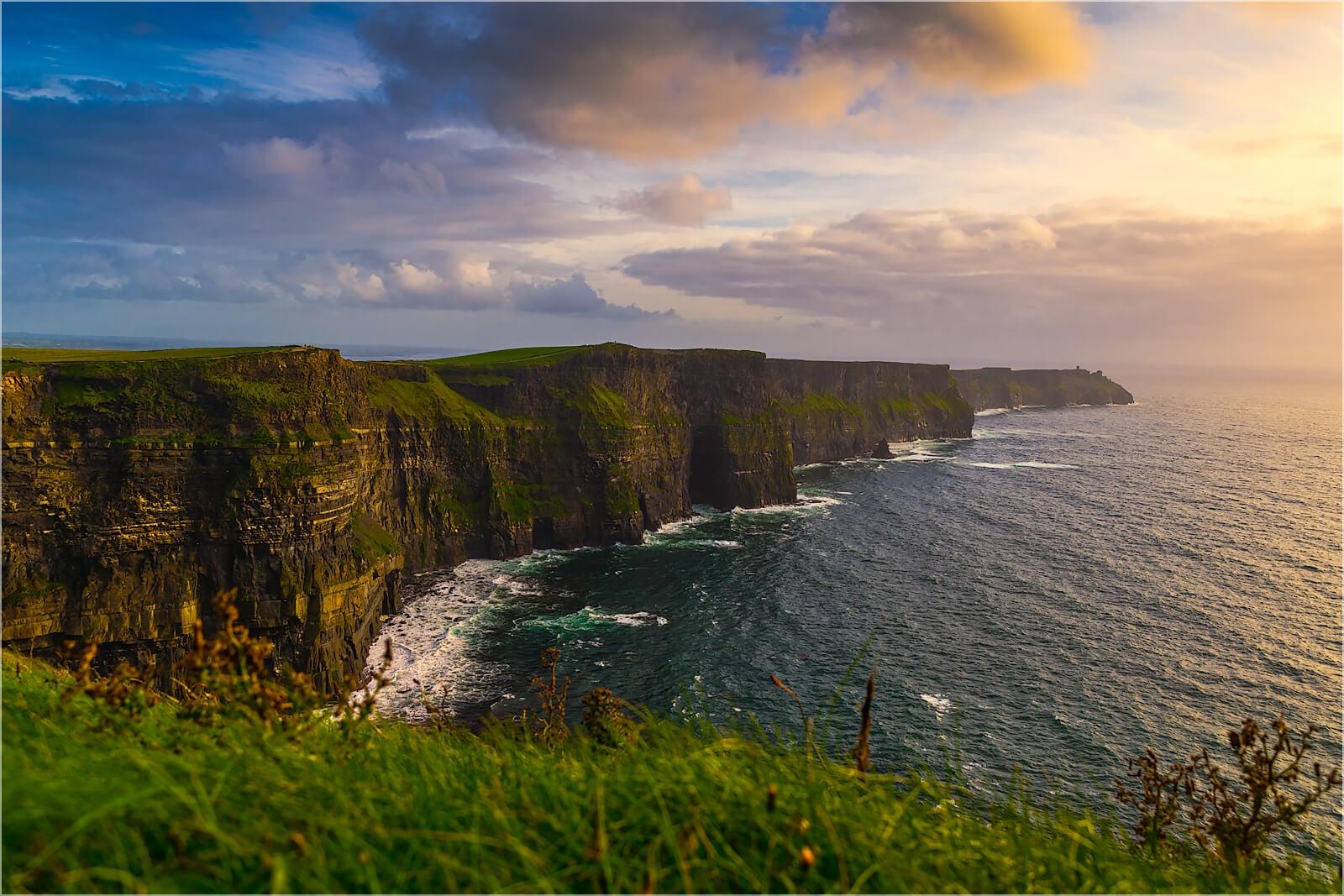 Wanddeko Cliffs of Moher  Irland
