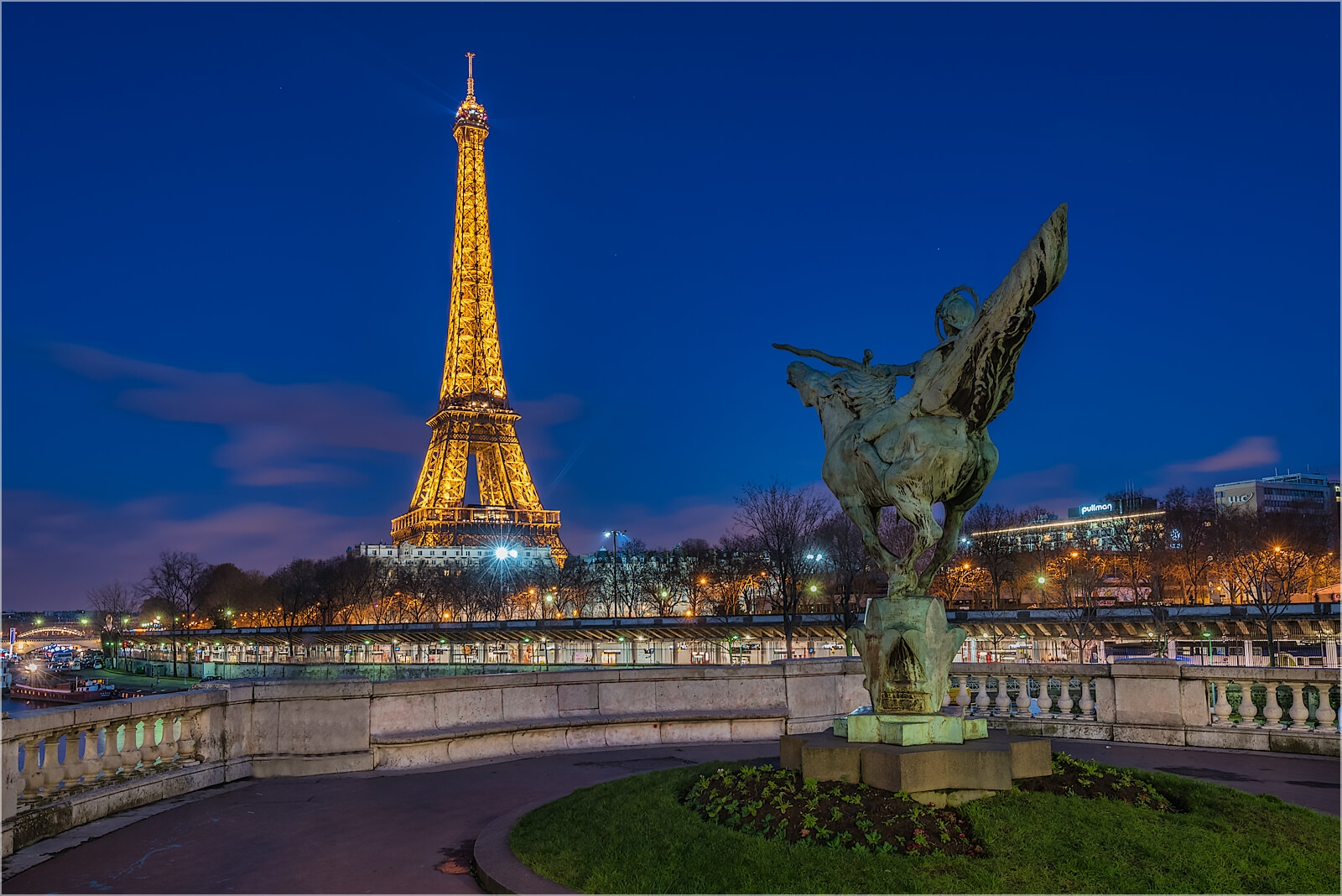 Wanddeko Paris Denkmal am Eifelturm