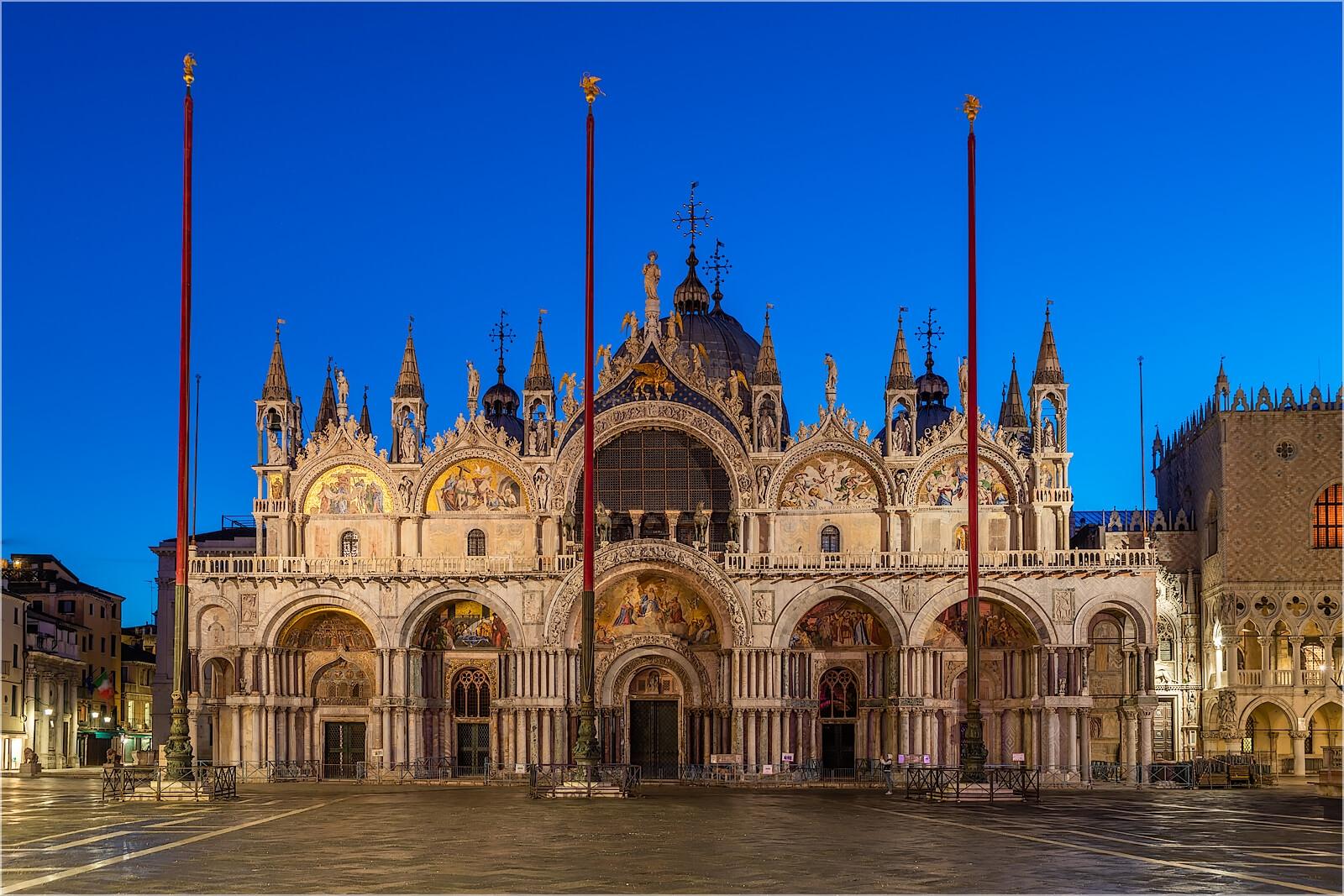 Wandbild Markusdom Venedig