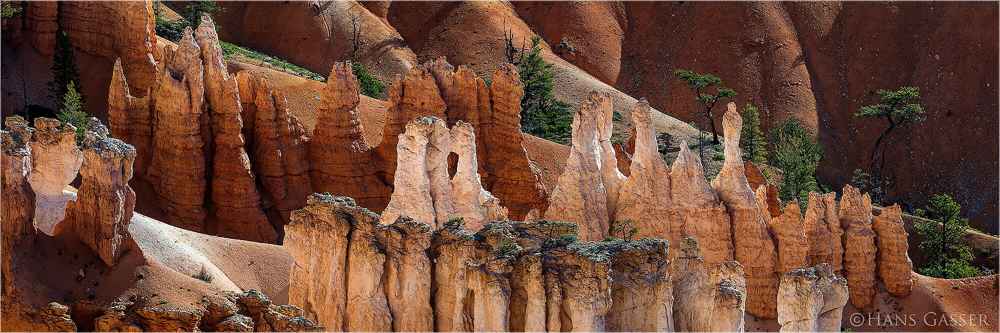 Panoramafoto Bryce Canyon National Park Utah USA