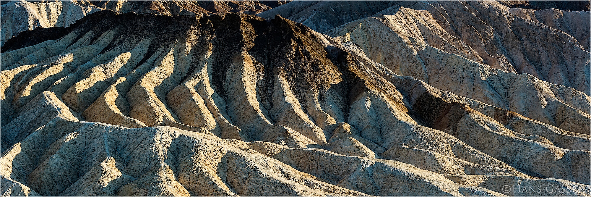 Panoramabild Zabriskie Point Death Valley California USA