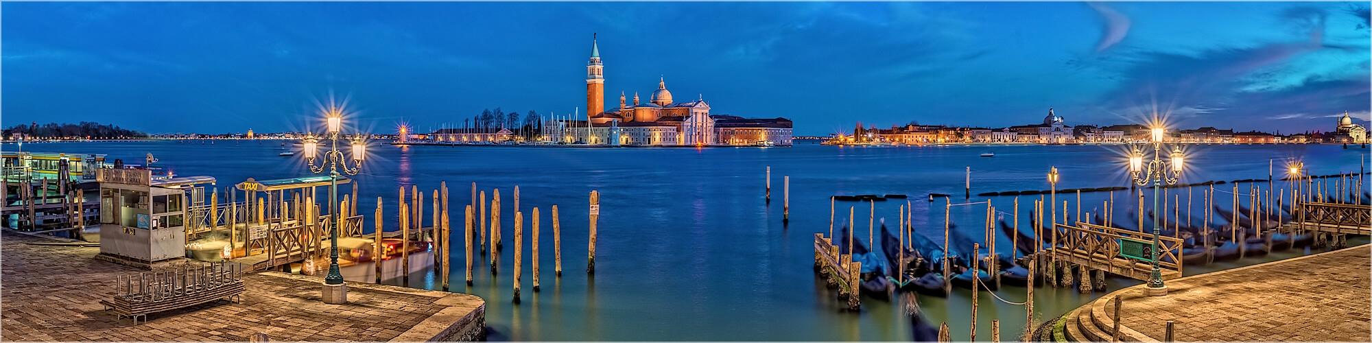 Panoramabild Venedig Italien San Giorgio Maggiore