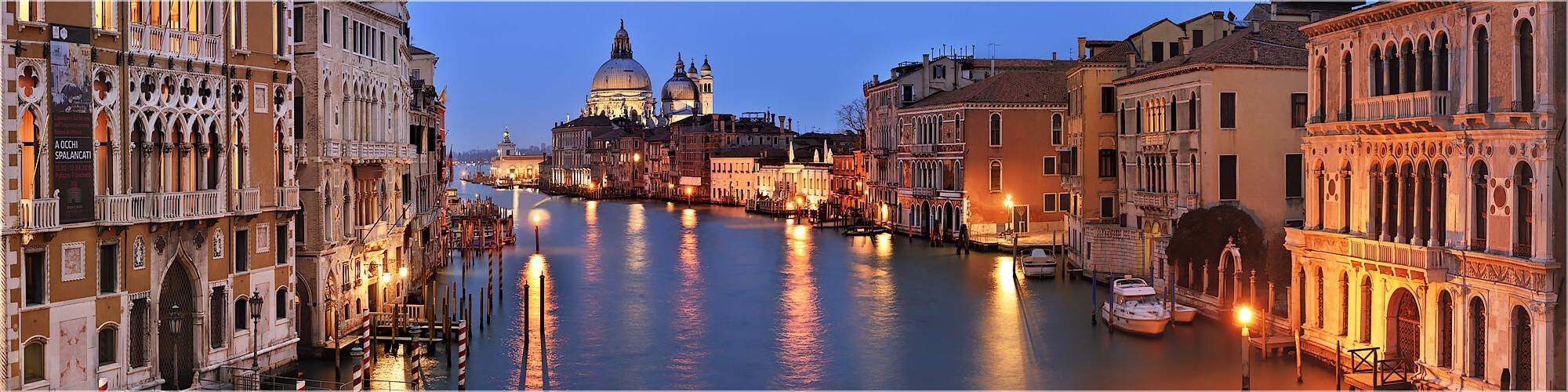 Panoramabild Venedig Italien Santa Maria della Salute