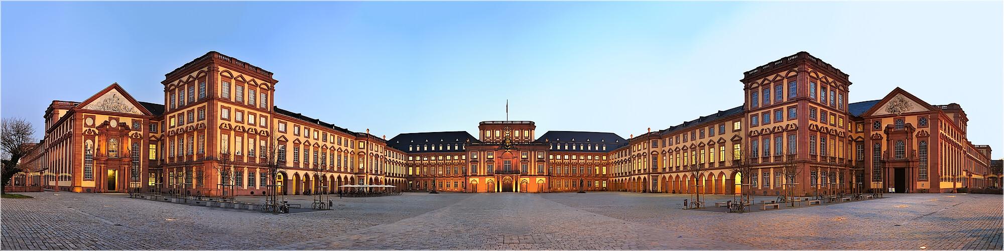 Panoramabild Mannheimer Barockschloß