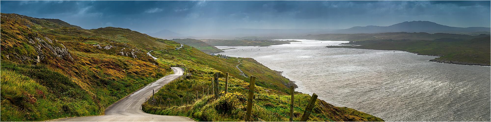 Panoramabild Irland Wild Atlantik Way