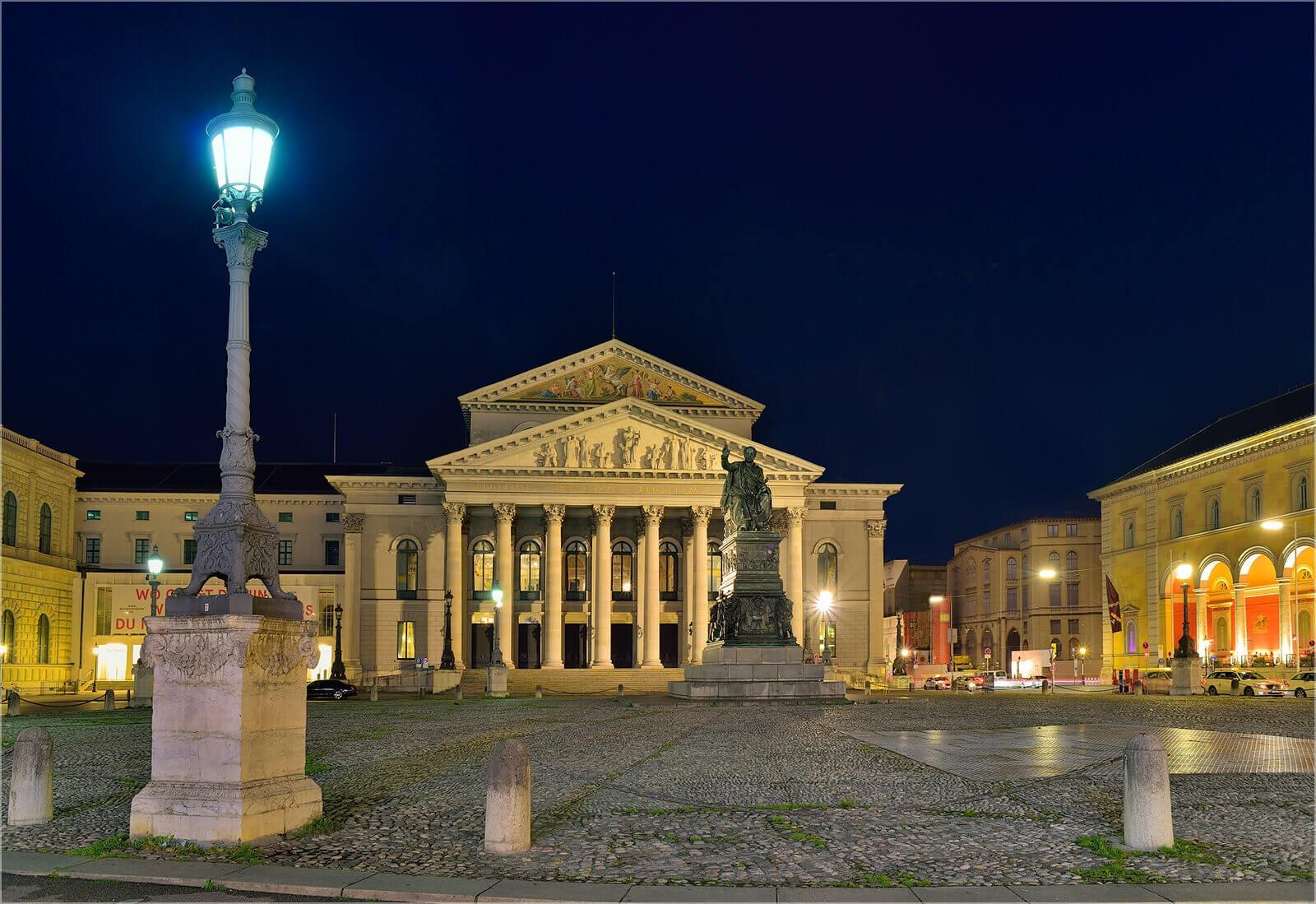 WanddekoMünchen  Nationaltheater