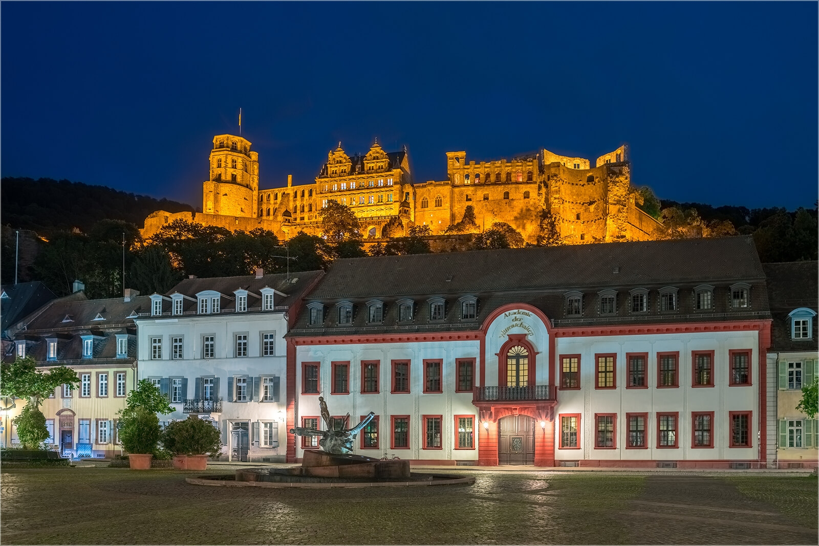 Wanddeko Heidelberg am Karlsplatz