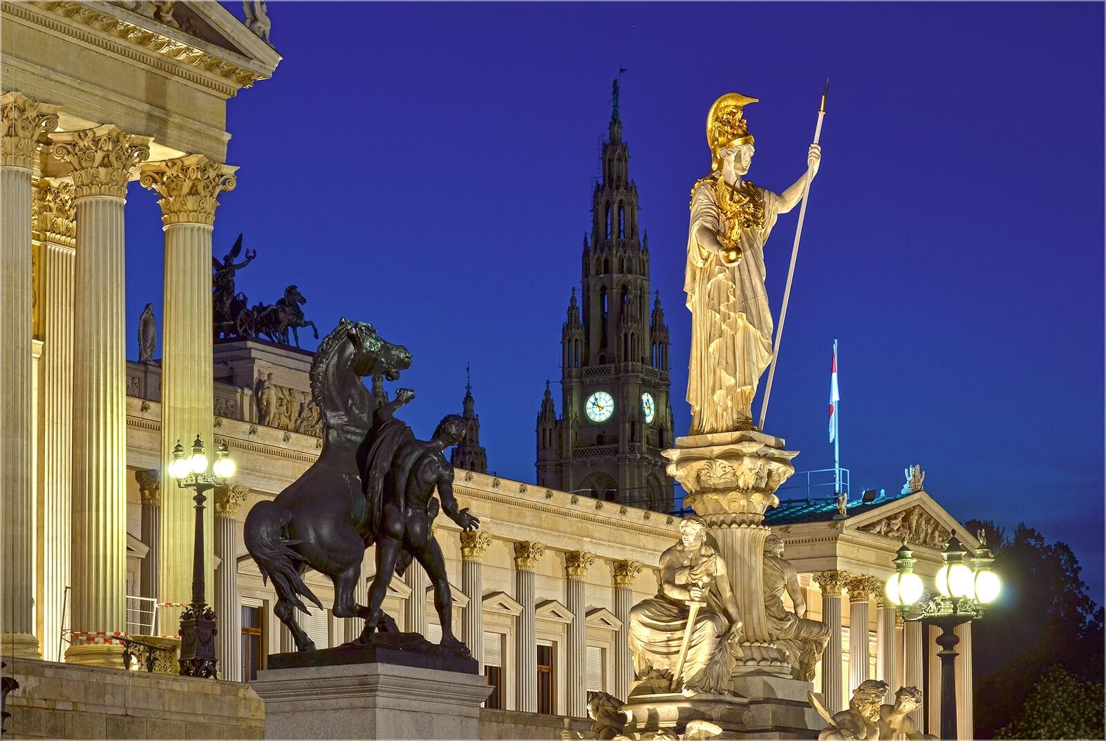 Wanddeko Am Parlament Wien
