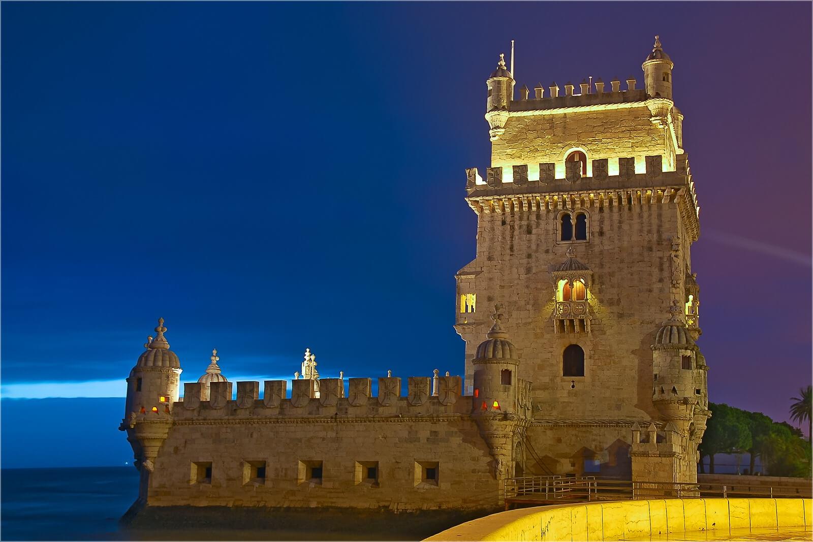 Wanddeko Torre de Belem Lissabon
