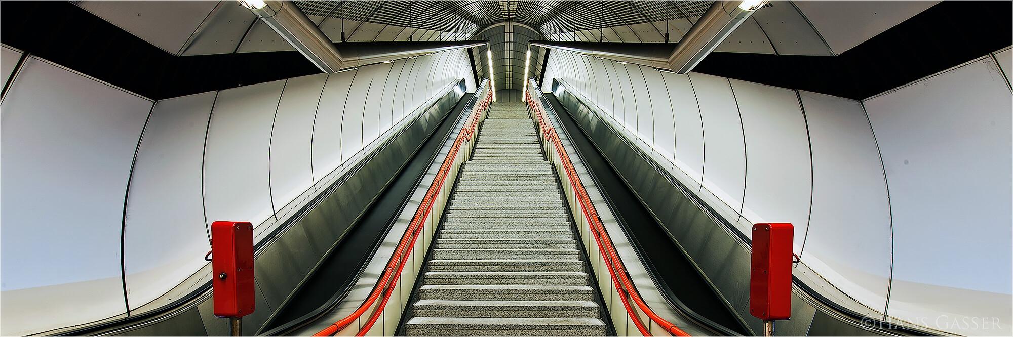 Panoramafoto Wien U-Bahn Station Schweglerstrasse