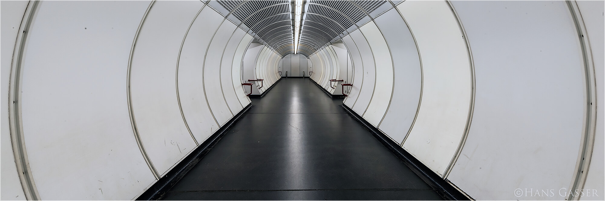 Panoramabild Wiener U-Bahn Station