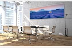 Beispiel Wandbild im Büro als Glasbild Leinwandbild Acrylglas und LED Leuchtbild erhältlich