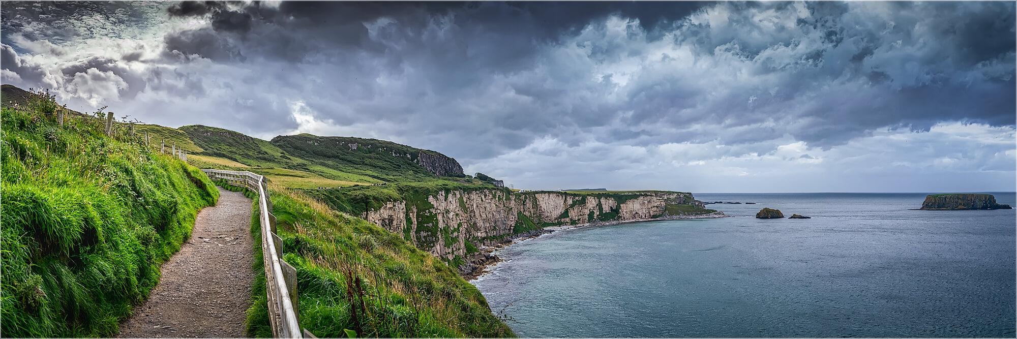 Panoramafoto am Wild Atlantik Way Irland