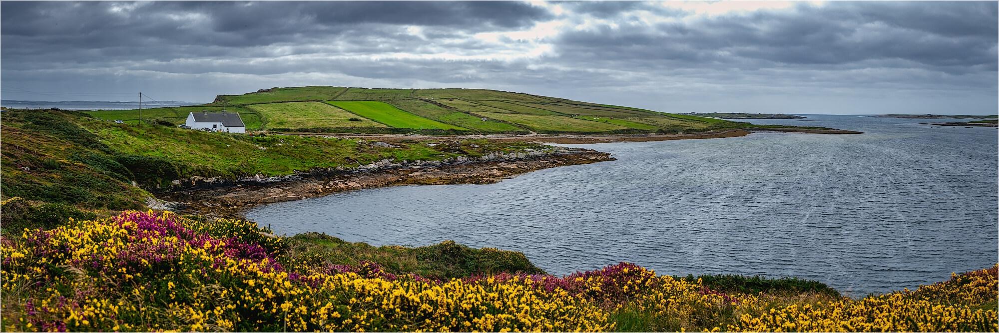 Panoramafoto Küstenlandschaft Atlantik Irland