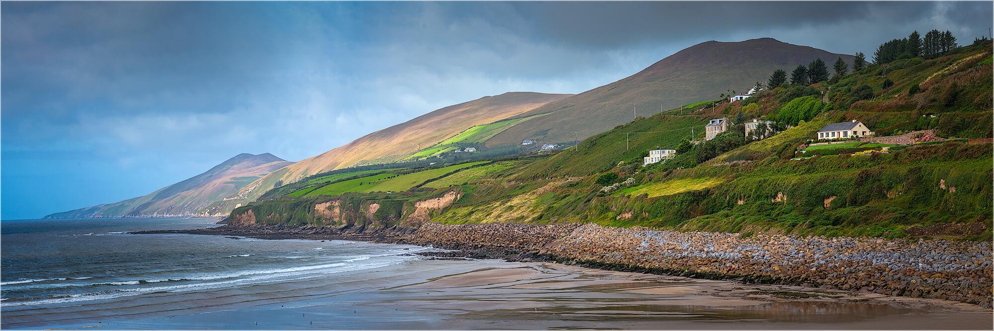 Panoramabild Küstenlandschaft Irland in Kerry
