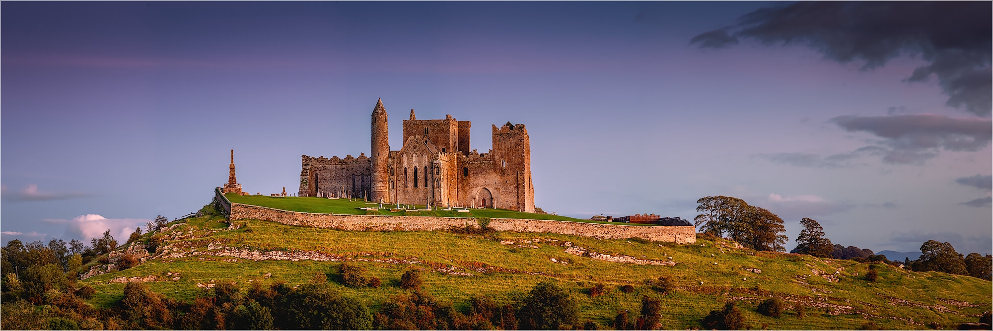 Panoramafoto Rock of Cashel Tipperary Irland