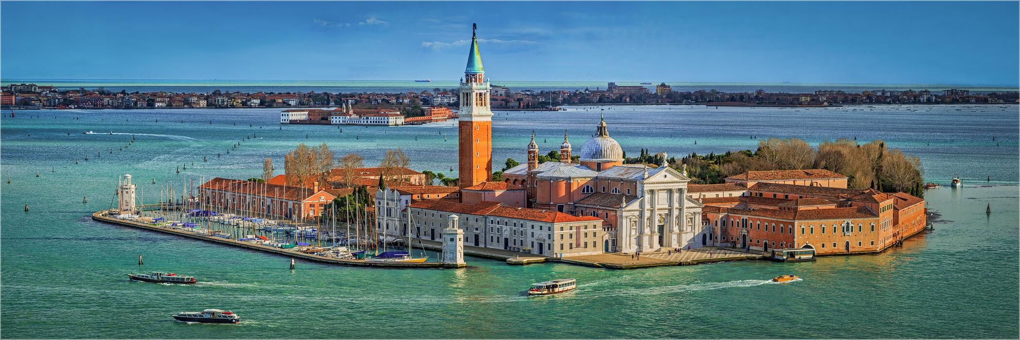 Panoramabild Venedig San Giogio Maggiore