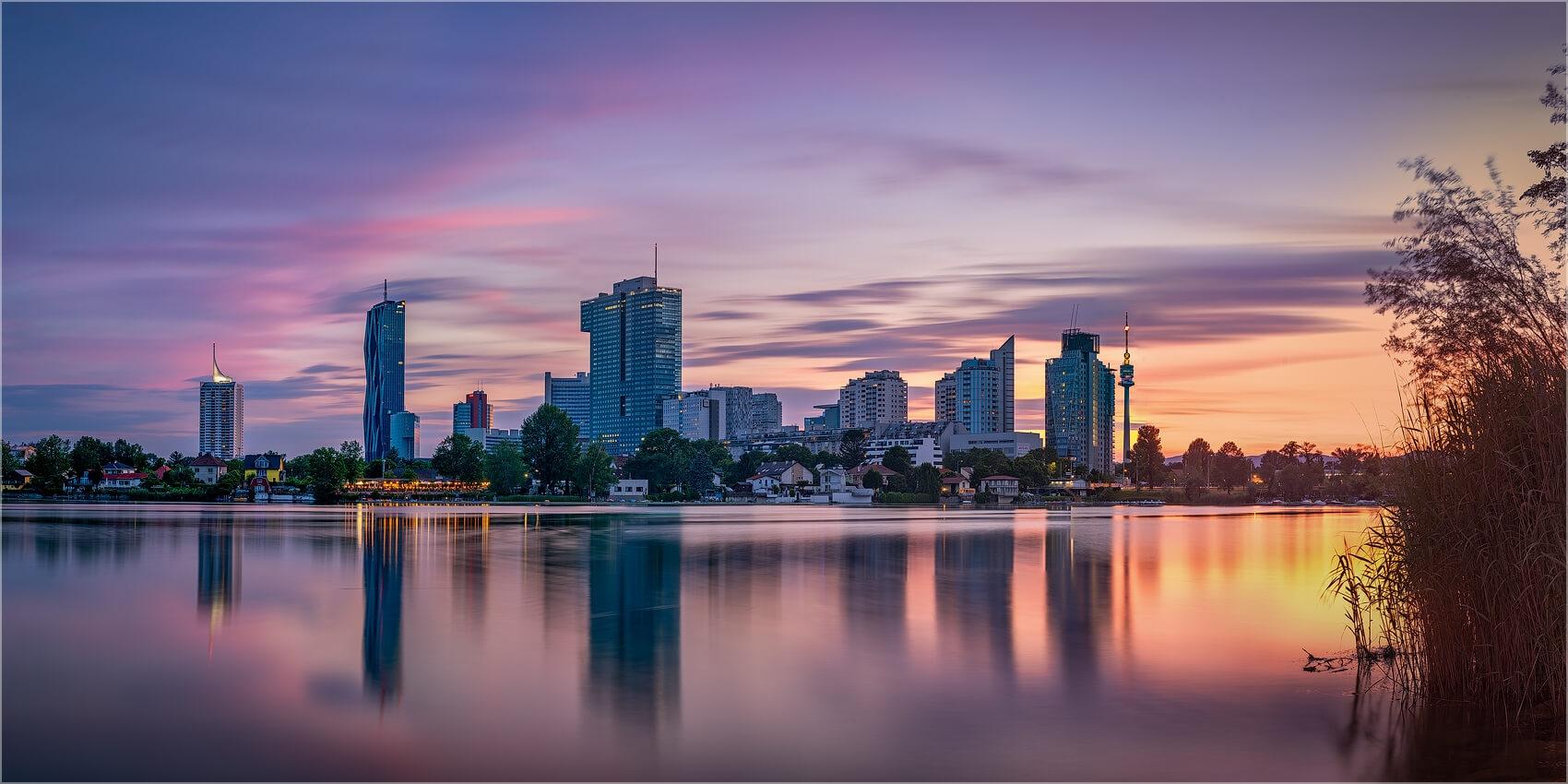 Panoramabild Wien Uno City