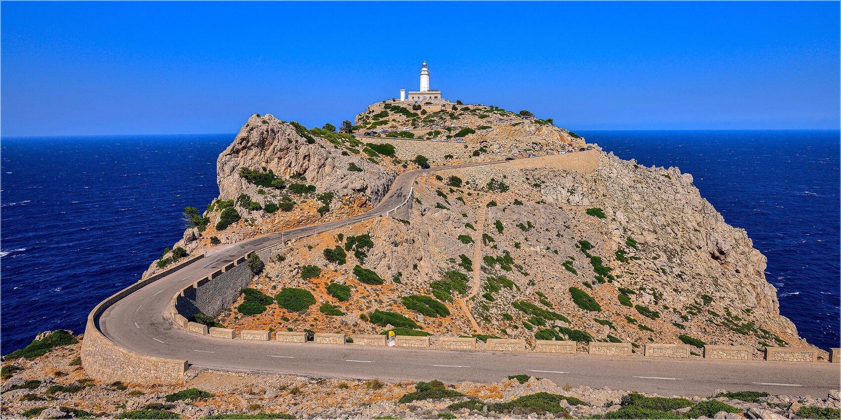 Panoramabild Mallorca Leuchtturm Cap Formentor