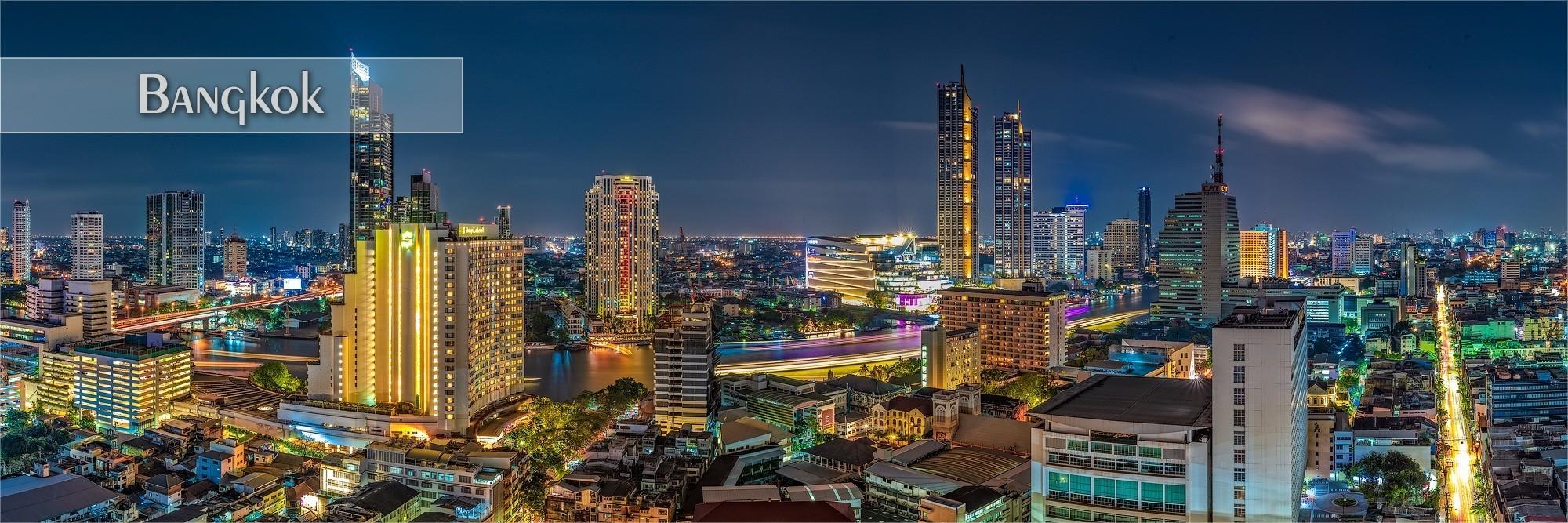 Bilder von Bangkok als Wanddeko oder Küchenrückwand