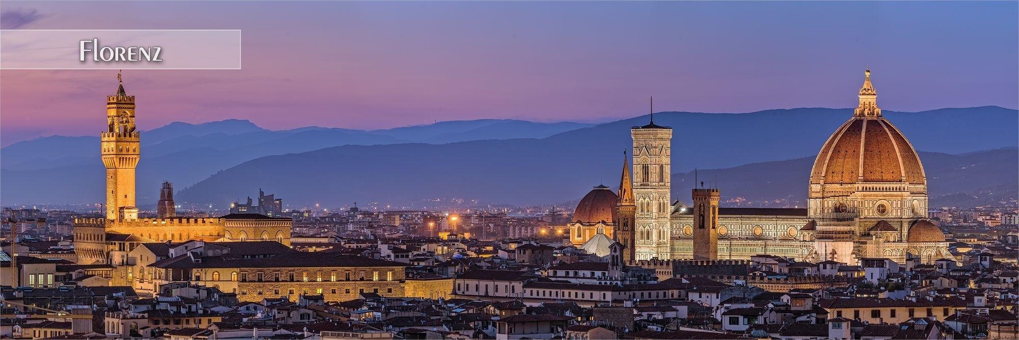 Bilder als Wandbild oder Küchenrückwand aus Florenz