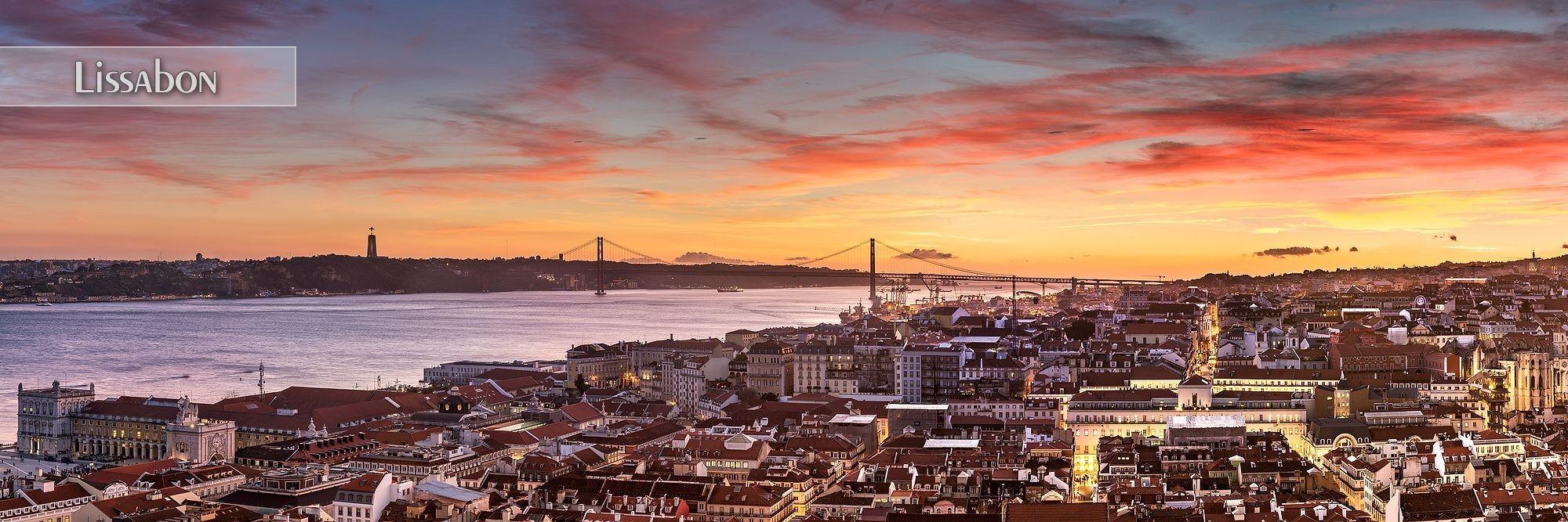 Bilder aus Lissabon als Wandbild oder Küchenrückwand