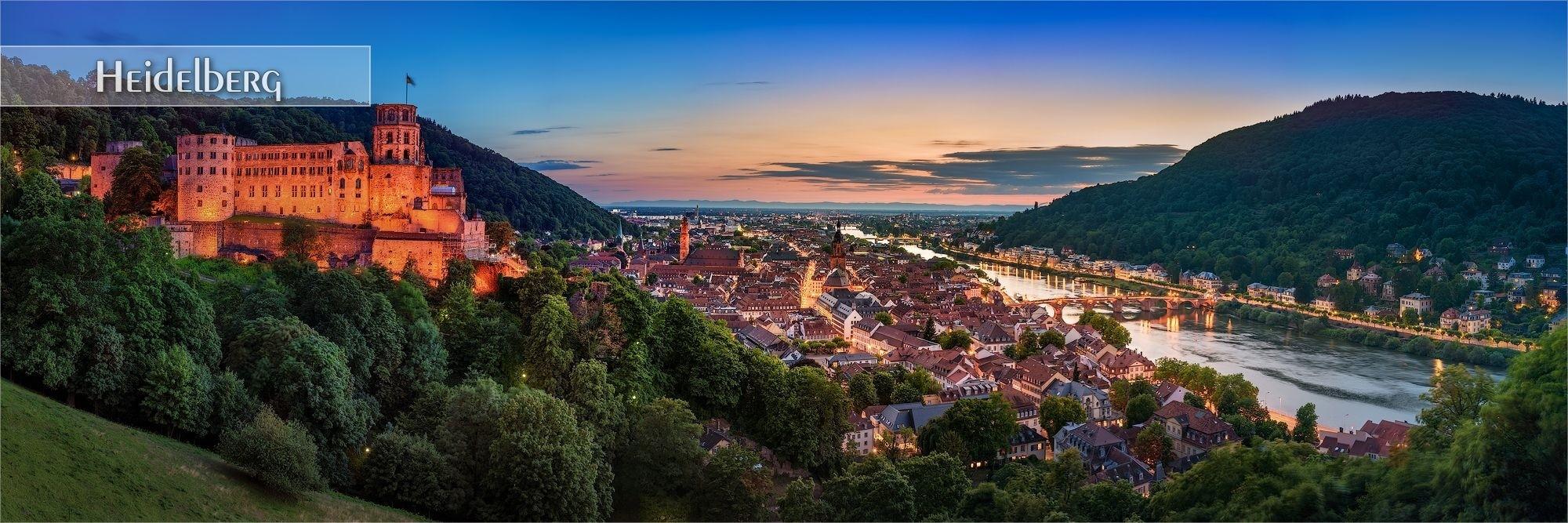 Bilder als Wandbild und Küchenrückwand aus Heidelberg